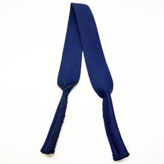Cordon - Bandeau à lunettes Sport en néoprène bleu navy