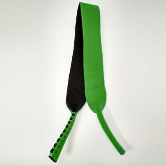 Cordon - Bandeau à lunettes Sport en néoprène vert