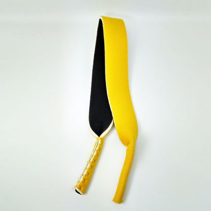 Cordon - Bandeau à lunettes Sport en néoprène jaune