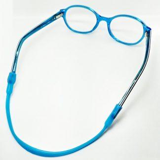 cordon lunette enfant bleu clair
