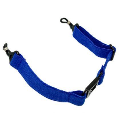 Cordon à lunettes bandeau bleu enfant réglable
