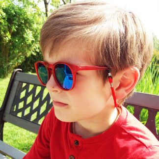 glasses cord child Red