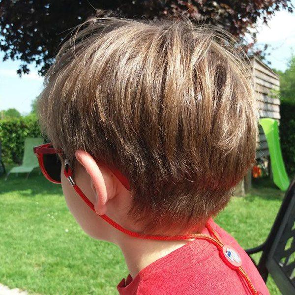 cordon à lunettes Enfant rouge
