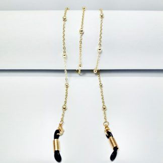 Luxury gold eyewear chain