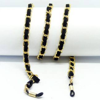 Golden PARIS glasses chain