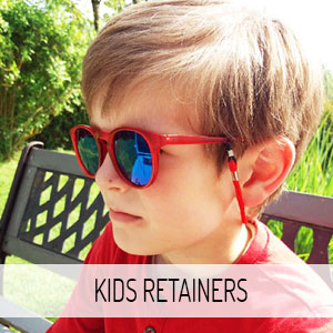 Kids glasses retainers