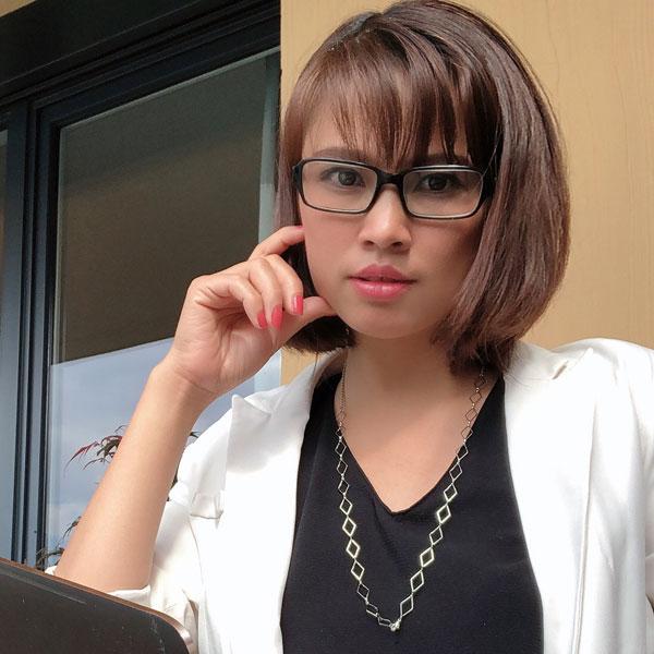 Chaine à lunettes argentée Losanges