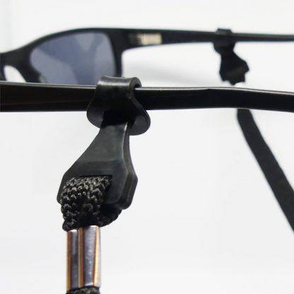 Cordon à lunettes de sécurité noir réglable