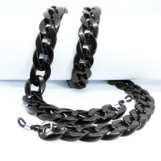 Black Acrylic glasses chain