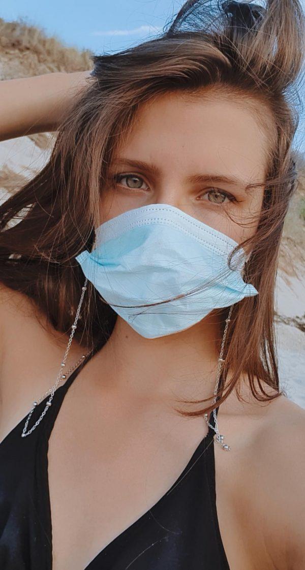 Chaine pour masque de protection